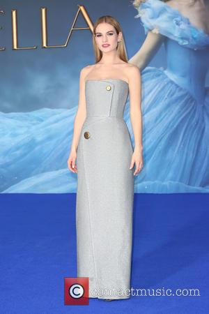 Lily James' Dream Came True With 'Cinderella' Casting