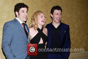Jason Biggs, Elisabeth Moss and Bryce Pinkham