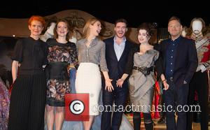 Sandy Powell, Helena Bonham Carter, Lily James, Richard Madden and Kenneth Branagh