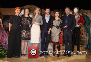 Sandy Powell, Holliday Grainger, Lily James, Richard Madden, Helena Bonham Carter and Kenneth Branagh