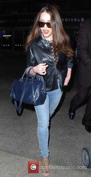 Emilia Clarke - Emilia Clarke at Los Angeles International Airport (LAX) at Lax - Los Angeles, California, United States -...