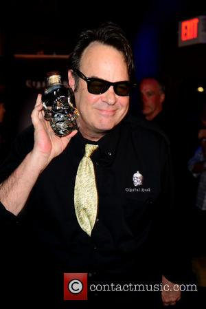 Dan Aykroyd - Dan Akyroyd meets and greets fans at a signing of Special Crystal Head Vodka bottles. He is...