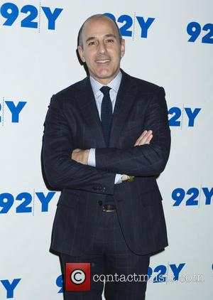 Matt Lauer - Jeremy Piven in Conversation at 92Y - Arrivals at 92Y - New York, New York, United States...