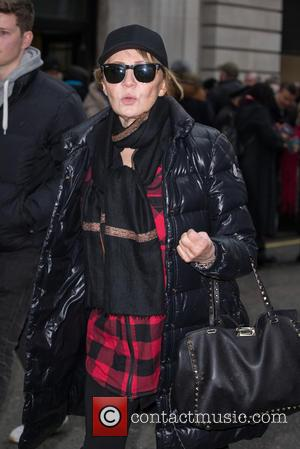 Lulu - Lulu pictured leaving the Radio 2 studio after appearing as a guest on the Chris Evans Breakfast Show...