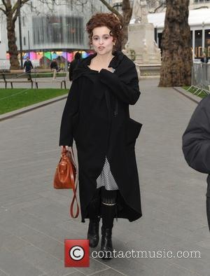Helena Bonham Carter - The cast of 'Cinderella' out and about in Leicester Square at Leicester Square - London, United...