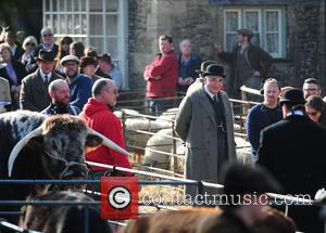Jim Carter - The cast of 'Downton Abbey' filming a Rosette scene - London, United Kingdom - Friday 20th March...