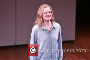 Elisabeth Moss - Opening night of The Heidi Chronicles at the Music Box Theatre - Curtain Call. at Music Box...
