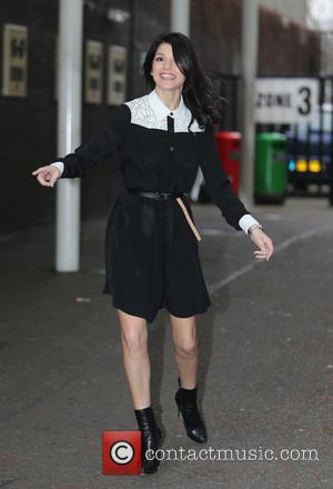 Natalie Anderson - Natalie Anderson outside ITV Studios - London, United Kingdom - Friday 20th March 2015