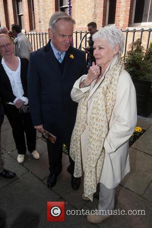 Jeffrey Archer and Dame Judi Dench
