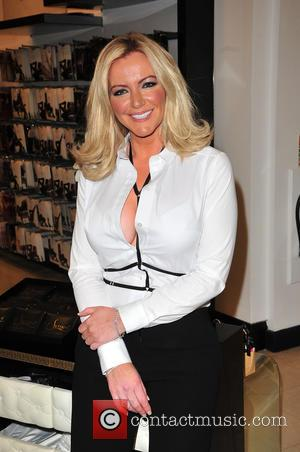 Michelle Mone - Michelle Mone, owner of Ultimo lingerie, in Liverpool to open a concession at Debenhams in Liverpool One...