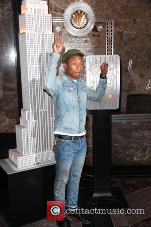 Pharrell Williams - Grammy Award winning musician Pharrell Williams flips the switch to mark United Nations' International Day of Happiness...