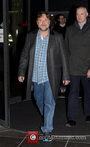 Russell Crowe - Celebrities at the RTE studios for 'The Late Late Show' - Dublin, Ireland - Friday 20th March...