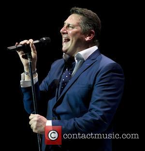 Tony Hadley and Spandau Ballet - Spandau Ballet perform live to a sold out crowd at the Heineken Music Hall...