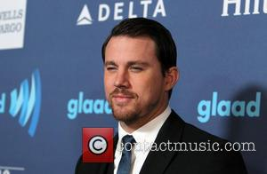 Channing Tatum - 26TH ANNUAL GLAAD MEDIA AWARDS at The Beverly Hilton Hotel - Beverly Hills, California, United States -...