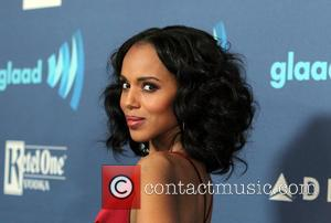 Kerry Washington - 26TH ANNUAL GLAAD MEDIA AWARDS at The Beverly Hilton Hotel - Beverly Hills, California, United States -...