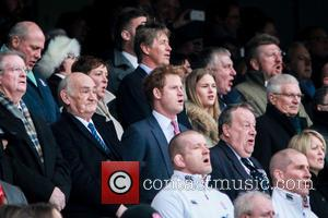 HRH Prince Harry of Wales - RBS 6 Nations England v France at Twickenham Stadium - London, United Kingdom -...