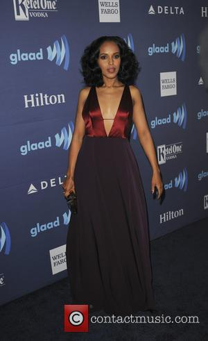 Kerry Washington - A variety of stars were photographed as they arrived to the 26th Annual GLAAD Media Awards which...