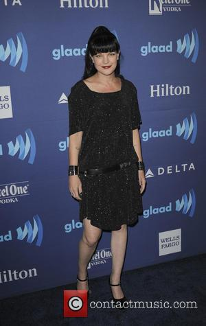 Pauley Perrette - A variety of stars were photographed as they arrived to the 26th Annual GLAAD Media Awards which...