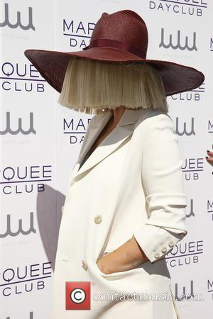Sia - Kourtney Kardashian hosts Marquee Dayclub Season Preview - Arrivals at Marquee Dayclub - Las Vegas, Nevada, United States...