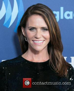 Amy Landecker - A variety of stars were photographed as they arrived to the 26th Annual GLAAD Media Awards which...