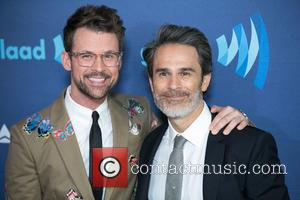 Brad Goreski and Gary Janetti - A variety of stars were photographed as they arrived to the 26th Annual GLAAD...