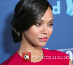 Zoe Saldana - A variety of stars were photographed as they arrived to the 26th Annual GLAAD Media Awards which...