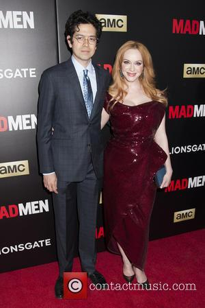 Geoffrey Arend and Christina Hendricks - Shots of a host of stars as they arrived and took to the red...