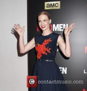 January Jones - Shots of a host of stars as they arrived and took to the red carpet for a...