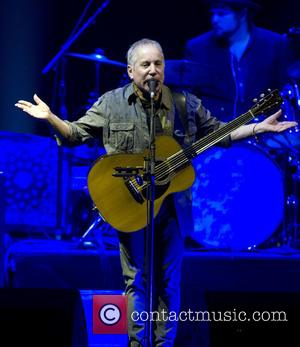 Paul Simon - Photo's of British singer songwriter Sting and American singer songwriter Paul Simon as they both performed live...