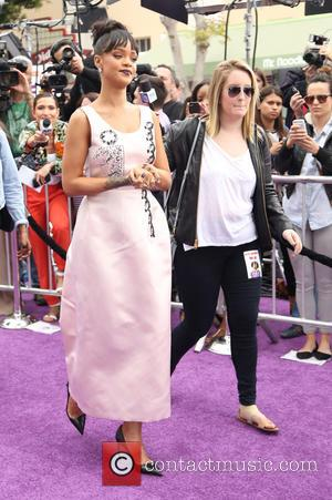 Rihanna - Shots of a host of stars as they arrived and took to the red carpet for a Special...