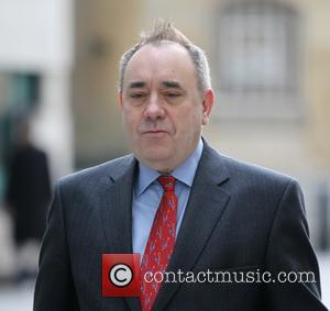 Alex Salmond - 'The Andrew Marr Show' - Arrivals - London, United Kingdom - Sunday 22nd March 2015
