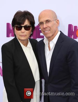 Jeffrey Katzenberg and Marilyn Katzenberg - A host of stars were photographed as they attended a special screening of new...