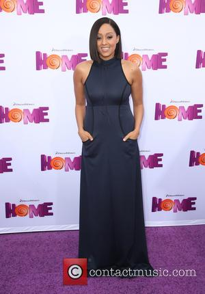 Tia Mowry - A host of stars were photographed as they attended a special screening of new movie 'Home' which...