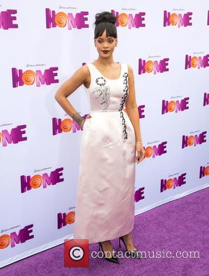 Rihanna - Celebrities attend HOME Special Screening presented by Twentieth Century Fox and Dreamworks Animation at Regency Village Theater in...
