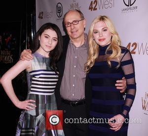 Lilla Crawford, James Lapine and Mackenzie Mauzy