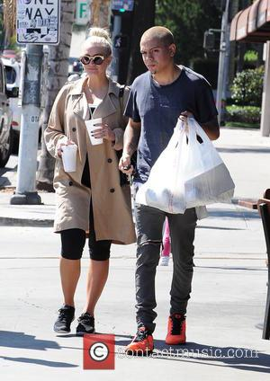 Ashlee Simpson and Evan Ross - Ashlee Simpson and Evan Ross leaving a workout - Los Angeles, California, United States...