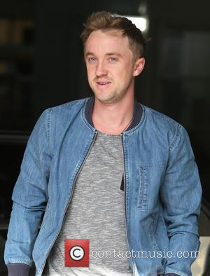 Tom Felton - Tom Felton outside ITV Studios today - London, United Kingdom - Monday 23rd March 2015