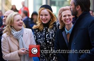 Elisabeth Moss, Christina Hendricks and Jon Hamm
