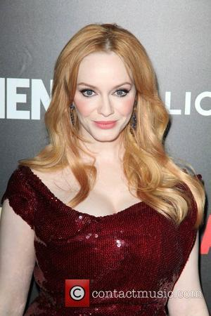 Christina Hendricks - Shots of a host of stars as they arrived and took to the red carpet for a...