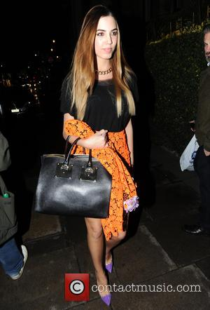 Amber Le Bon - Amber Le Bon seen out in London at Mandarin Oriental Hyde Park for The Royals UK...