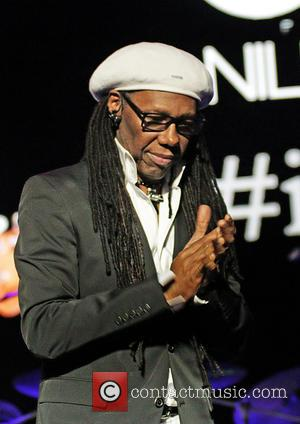 Chic and Nile Rodgers - Chic featuring Nile Rodgers performing live on stage  at Manchester O2 Apollo at Manchester...