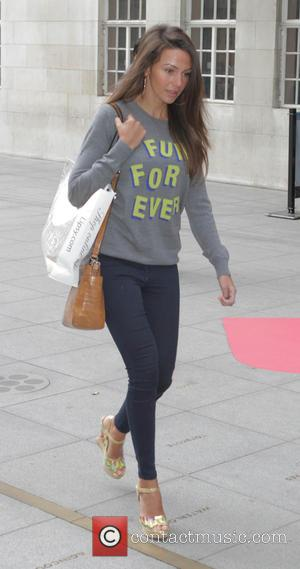 Michelle Keegan - Celebrities at BBC Radio 1 - London, United Kingdom - Tuesday 24th March 2015