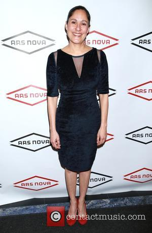 Sakina Jaffrey - Opening night party for Small Mouth Sounds at Ars Nova theatre space - Arrivals. at Ars Nova...