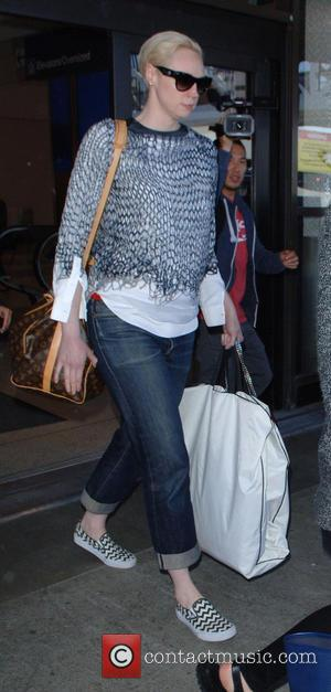 Gwendoline Christie - HBO's 'Game Of Thrones' stars arrive at Los Angeles International Airport (LAX) at LAX - Los Angeles,...