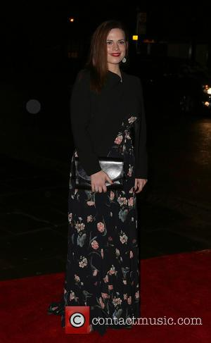 Hayley Atwell - Shots from the opening night of the play 'The Great Gatsby' which was held at Sadlers Wells...