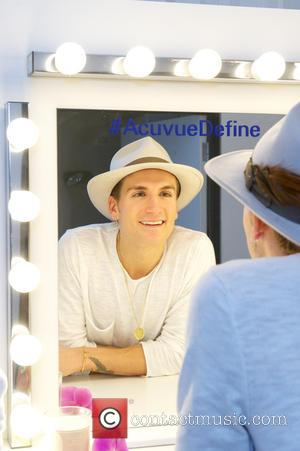 Oliver Proudlock - Oliver Proudlock Shimmers and Sparkles at Vision Express 1-Day Acuvue Define Eye Health Spa - London, United...