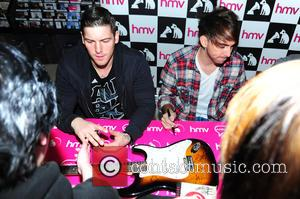 All Time Low - American pop punk band All Time Low were on hand to sign copies of their latest...