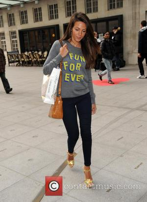 Michelle Keegan - Michelle Keegan arrives at the BBC Radio 1 studios - London, United Kingdom - Tuesday 24th March...
