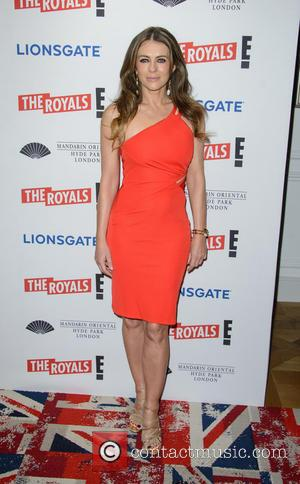 Shots of a host of stars as they attended the UK TV premiere of new series 'The Royals' in London,...