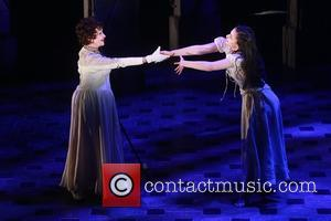 Chita Rivera and Michelle Veintimilla - Preview of Broadway musical The Visit, featuring Michelle Veintimilla and Chita Rivera as the...